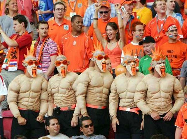Спортивные фанаты